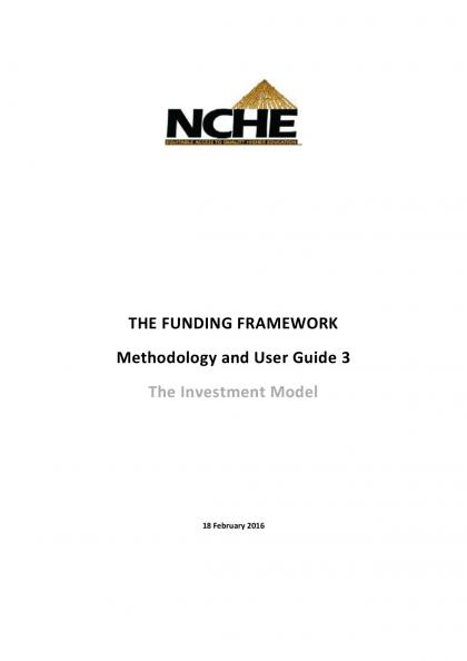 FF Methodology and User Guide 3 The Investment Model