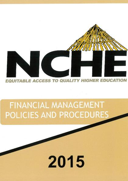 Financial Management Policies and Procedures